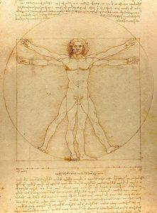 Vitruvianischer Mensch (Leonardo Da Vinci)